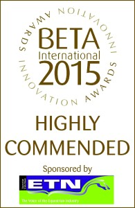BETA International 2015 Innovation Awards Highly Commended Logo