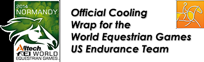 Equi Cool Down at FEI WEG 2014